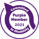 Purple member - Committed to Disability